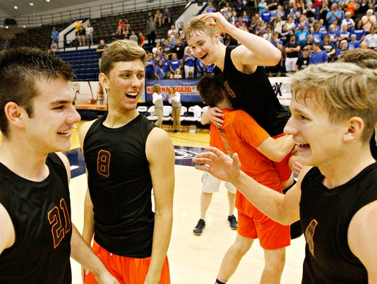 Northeastern vs Beaver County Christian PIAA Boys' Volleyball Championship