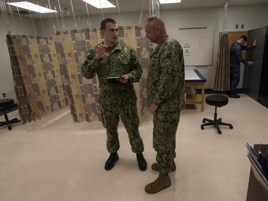 Navy Corpsman, Petty Officer 3rd Class, Travis Huffman,