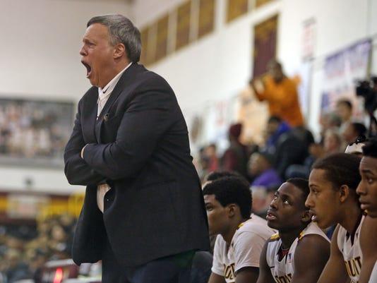 Mount Vernon coach Bob Cimmino