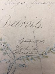 Captain David William Smith, signed D.W. Smith, created