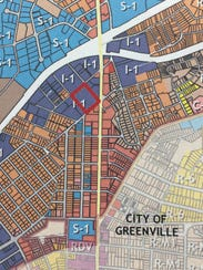 """Greenville County has identified a """"Poinsett District"""""""