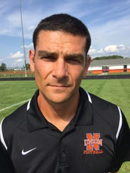 North Union football coach and athletic director Nick