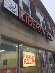 Liberty Tax is promoting a refund loan of up to $3,250