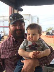 Colton Daniel, whose family owns the Circle Bar Ranch,