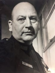 Rochester Police Officer Ralph Boryszewski in 1966.