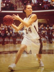 LeAnn Montes starred on the basketball court for the