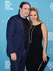 John Travolta and his wife, Kelly Preston, made the