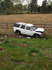 A Chevrolet Tahoe was involved in an accident with an 18-wheeler in Madison County Wednesday morning.