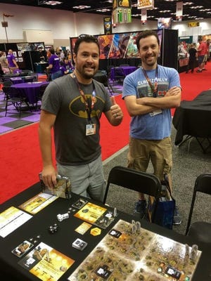 Brady (left) and Adam Sadler