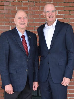 Brevard School Board candidate Charles Parker, right, has received the endorsement of U.S. Rep. Bill Posey in his District 2 race.