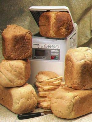 A bread machine