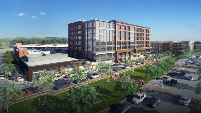 The first phase of Northside McEwen is expected to include up to 200,000 square feet of Class A office space, 26,000 square feet of retail space, three restaurant pads and 330 upscale residential units.