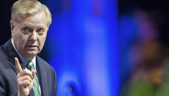 Sen. Lindsey Graham, R-S.C., is a candidate for the Republican presidential nomination.