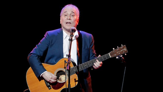 Paul Simon performs during the Global Citizen Festival, in New York in 2016.