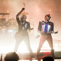 Review: Queen + Adam Lambert infuse bombast into classics, pay respects to Freddie Mercury