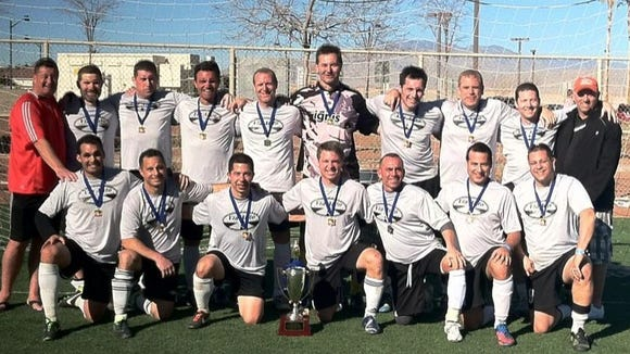 King's Cup Over-40 champions.