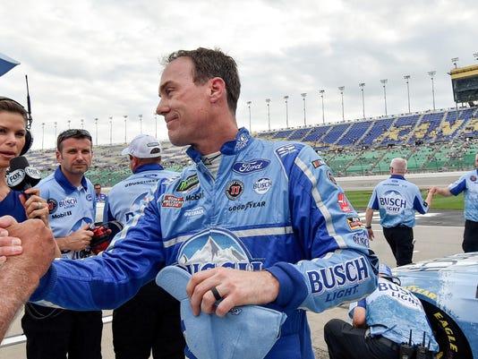 NASCAR at Kansas Speedway