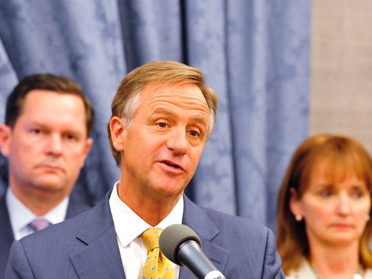 Gov. Bill Haslam signed into law a controversial bill