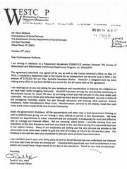 Tarek Abdelaziz, the former CFO at the Westchester Community Opportunity Program, pleaded with Westchester County officials to excuse a $279,000 overpayment that the agency kept.