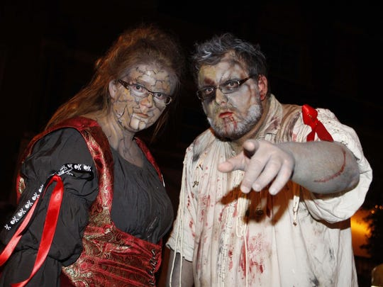 Organizers expect anywhere from 160 to 200 zombie performers to participate this year.