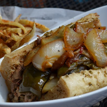 Ray Rays in Kalamazoo specializes in Italian Beef sandwiches