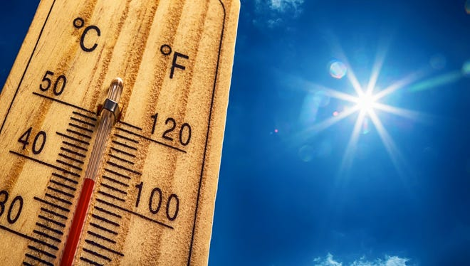 Hot temperatures are expected again this weekend.