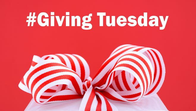 Giving Tuesday is the Tuesday after Thanksgiving.