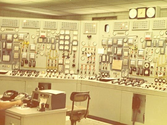 The control room for Units 1 and 2 at the AEP Conesville Power Plant circa 1959. Unit 1 started in 1957 and Unit 2 followed two years later.