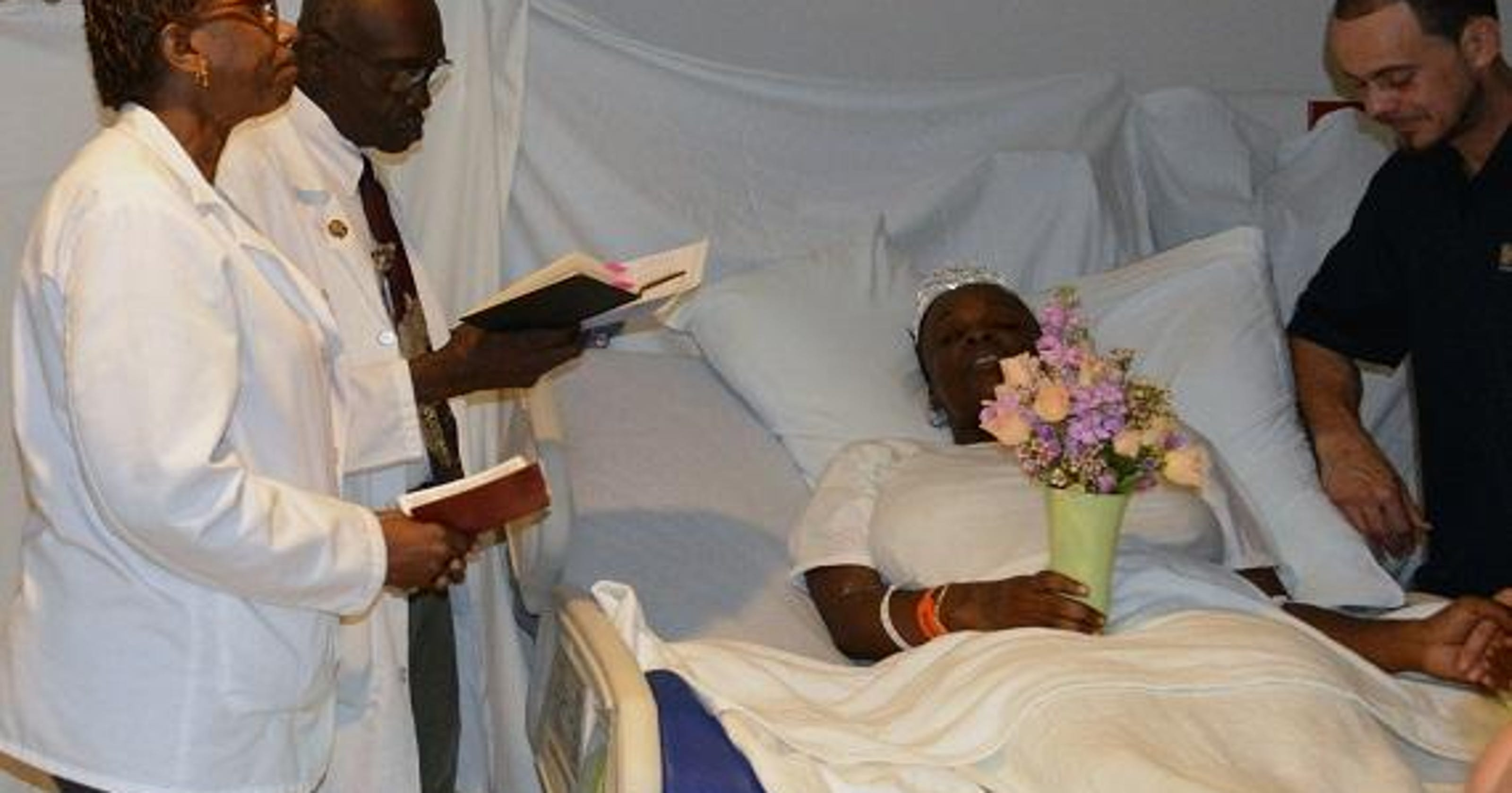 Wedding Reading Love Is Patient: Wedded Bliss For PRMC, Patient
