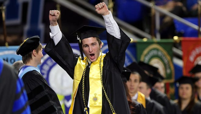 MTSU's fall commencement ceremonies are set for 9 a.m. and 2 p.m. Saturday, Dec. 10 at Murphy Center.