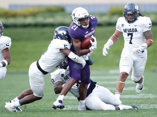 NCAA Football: Nevada at Northwestern