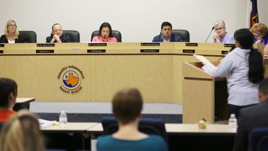 Canutillo Independent School District board members