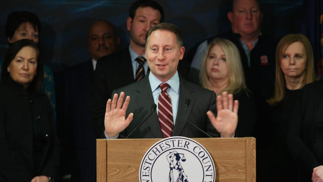 """Westchester County executive Rob Astorino unveiled his concussion task force's 10 """"Best Practices"""" on Jan. 11, 2016. The plan was designed to address gaps in the way sports concussions are identified and treated, with a particular focus on reducing the risks for high school athletes."""