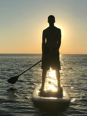 Pensacola Beach and the surrounding bays are already a great place to get a jump start on the spring by paddleboarding in March.