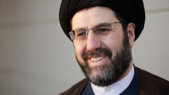 Imam Hassan Qazwini, shown in 2015, said reaching out to Christians, Jews and others has never been more important.
