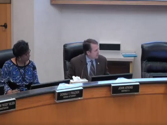 Commissioner John Atkins voted against a net neutrality resolution, saying the commission should focus on local issues.