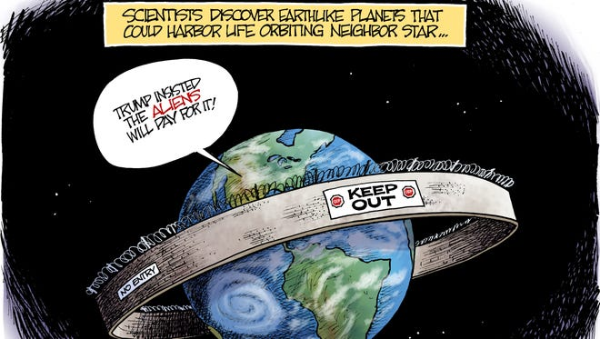 Planetary Wall