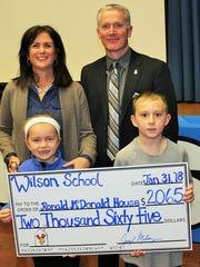 Wilson School 1st grade teacher Marie Morris and 1st