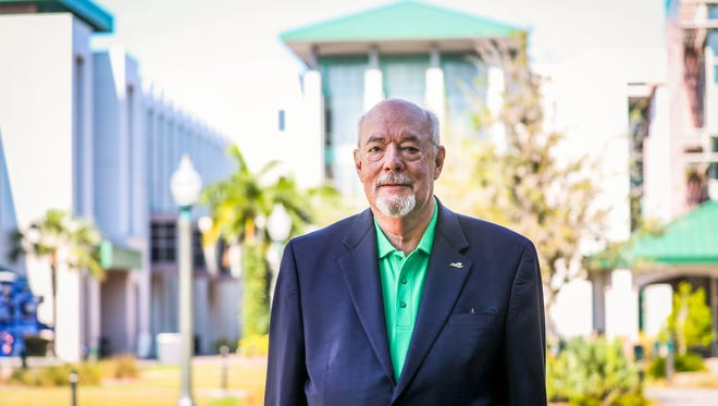 Michael Martin, the new president at Florida Gulf Coast University.