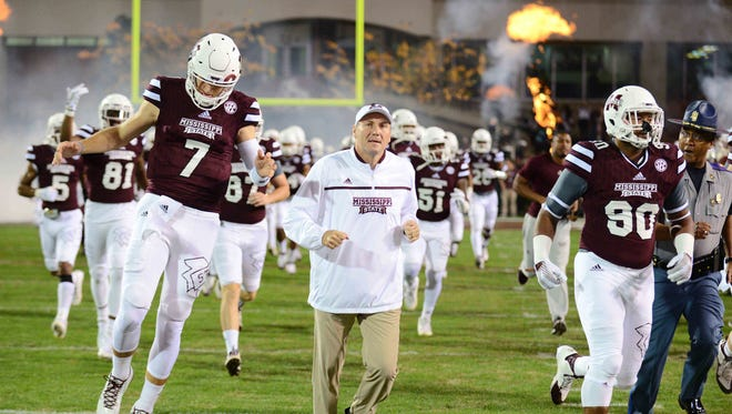 Mississippi State will play at BYU on Oct. 14, 2016. The game was moved from Saturday to Friday night.