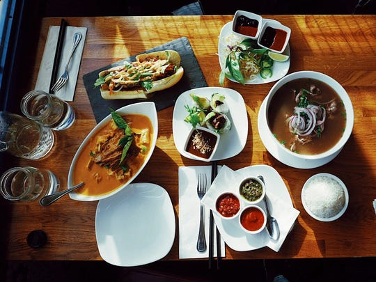 Just some of the dishes at Seak in Edgewater