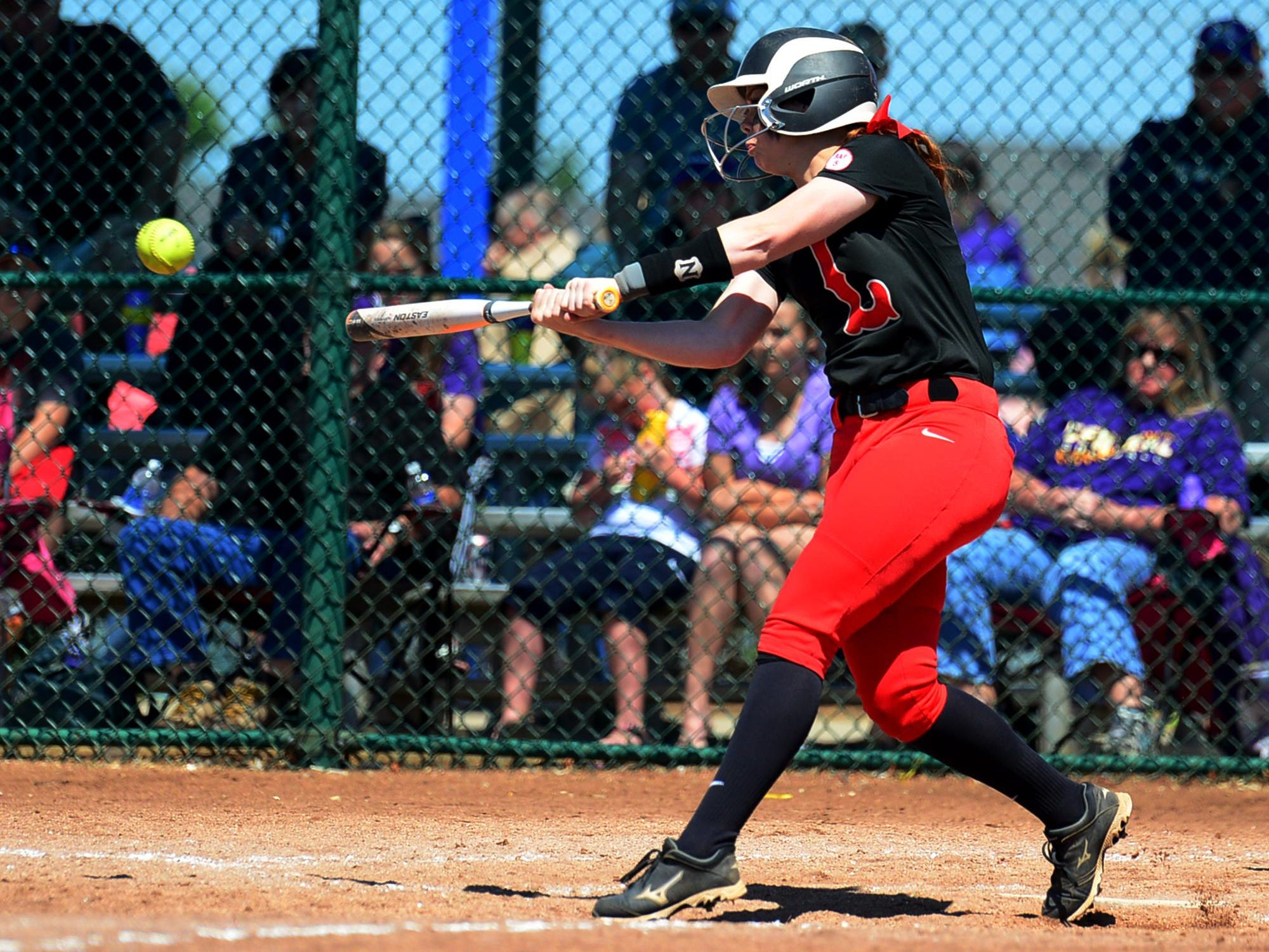 Lexington's Samantha McDaniel hit a walk-off two-RBI triple in the seventh inning to send the Lady Tigers to the Class AA state title game.