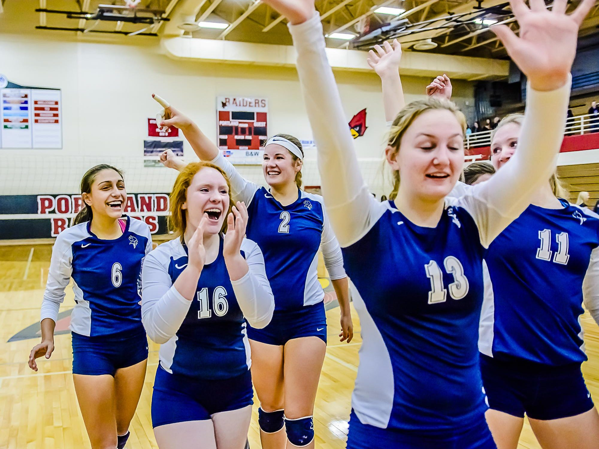 Lakewood volleyball is the highest-ranked Lansing-area team in the newest polls.