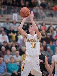 Brody Martin finished his CC career fourth on the all-time 3-pointers made list with 120.