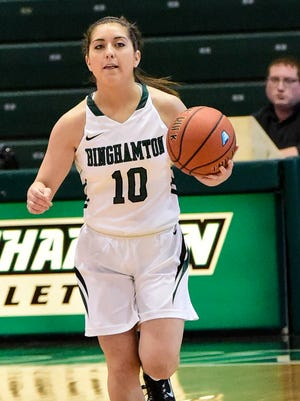 Binghamton beats Vermont during a women's basketball game at the Events Center during the 2014-15 season.