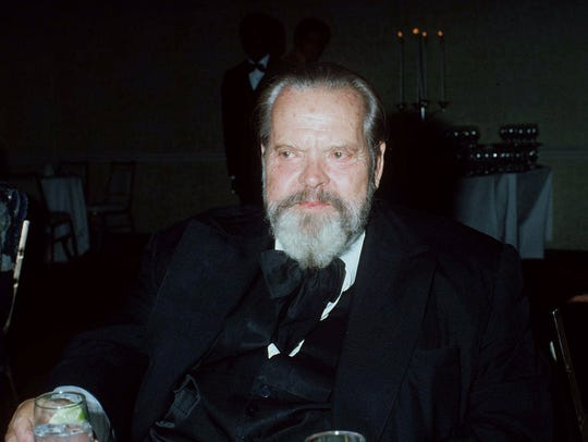 Film director Orson Welles is honored at the Hollywood
