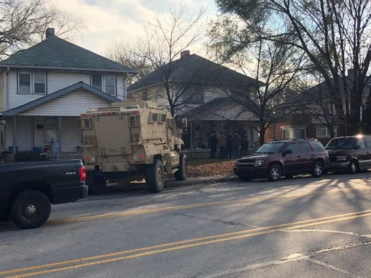 Authorities conduct raid on November 17, 2017