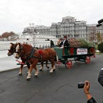 Oconto Christmas tree arrives at White House