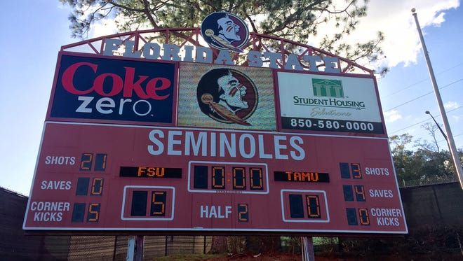 Florida State advanced to its fifth consecutive College Cup with a 5-0 win over Texas A&M.