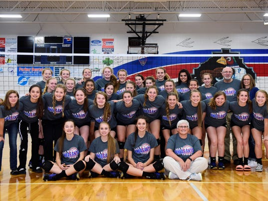 parker volleyball